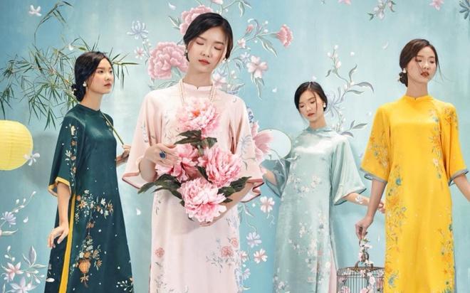Các mẫu áo dài đẹp diện Tết phù hợp với mọi dáng người - Thời trang