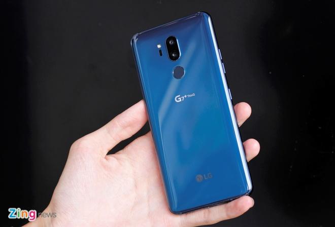 LG G7+ ThinQ dau tien ve Viet Nam hinh anh 11