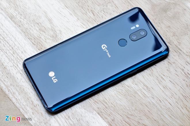 LG G7+ ThinQ dau tien ve Viet Nam hinh anh 3