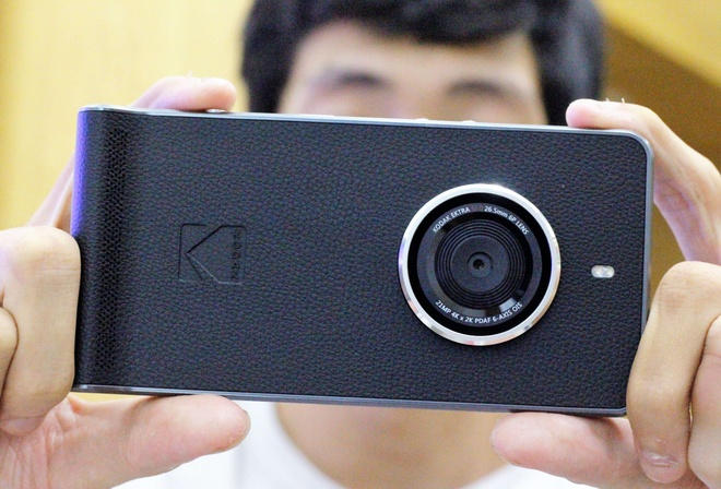 Chi tiet smartphone Kodak chuyen chup anh gia 6,6 trieu o VN hinh anh