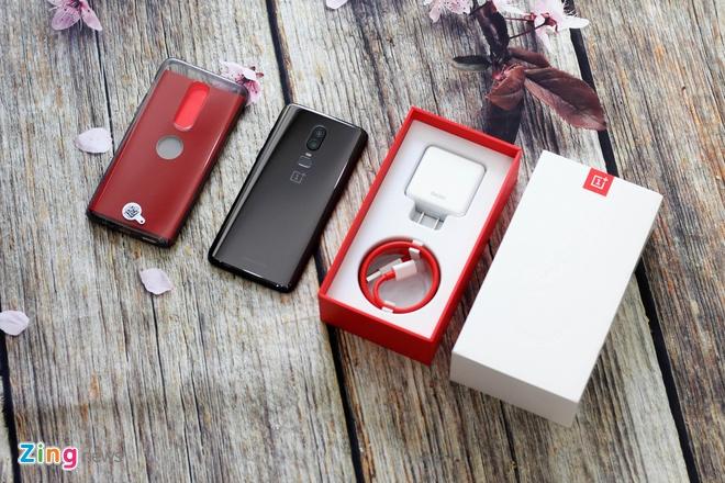 OnePlus 6 ve Viet Nam - cau hinh cao, gia 12,8 trieu dong hinh anh 1