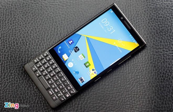 Trai nghiem BlackBerry KEY2 tai VN anh 9