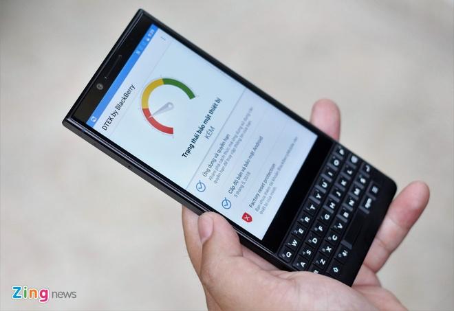 Trai nghiem BlackBerry KEY2 tai VN anh 8