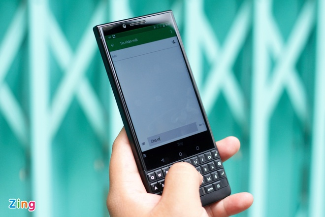 Trai nghiem BlackBerry KEY2 tai VN anh 4