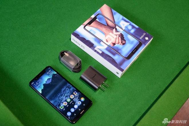 Nokia X5 ra mat - thiet ke giong iPhone X, gia tu 148 USD hinh anh 5