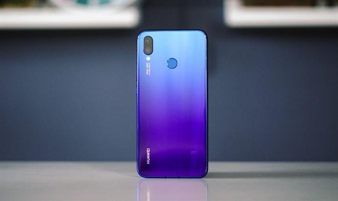 Huawei ra nova 3i - 4 camera, Kirin 710, chuyen game, gia tu 295 USD hinh anh