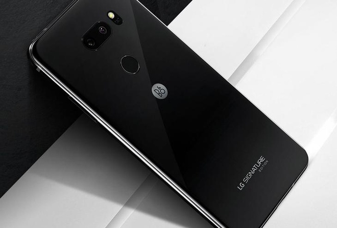 LG V35 Signature Edition ra mat: Vo gom zirconi, gia 1.800 USD hinh anh