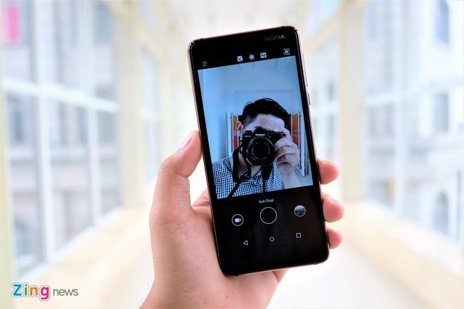 Trai nghiem nhanh Nokia 3.1: Thiet ke cung cap, man hinh 18:9 hinh anh 7