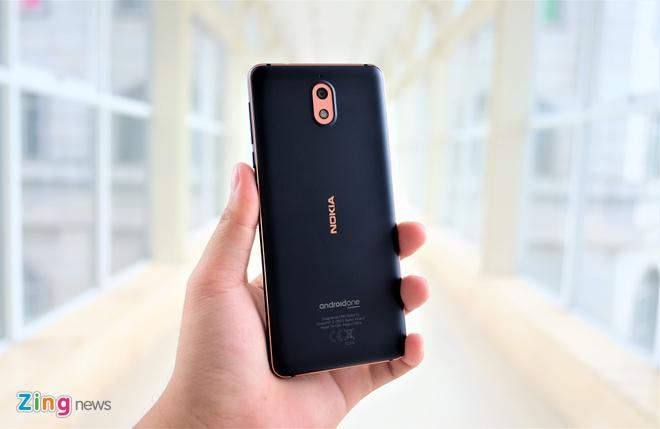 Trai nghiem nhanh Nokia 3.1: Thiet ke cung cap, man hinh 18:9 hinh anh 2