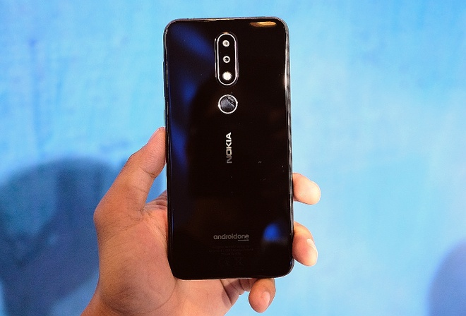 Nokia 6.1 Plus chay Android One, camera kep gia 6,6 trieu tai VN hinh anh