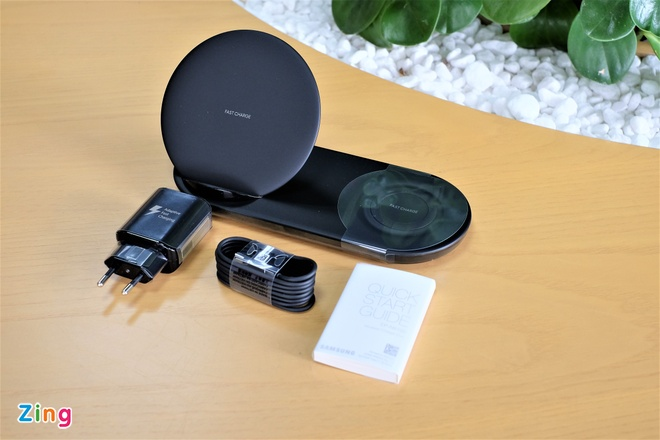 Trai nghiem Wireless Charger Duo anh 2