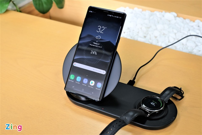 Trai nghiem Wireless Charger Duo anh 3