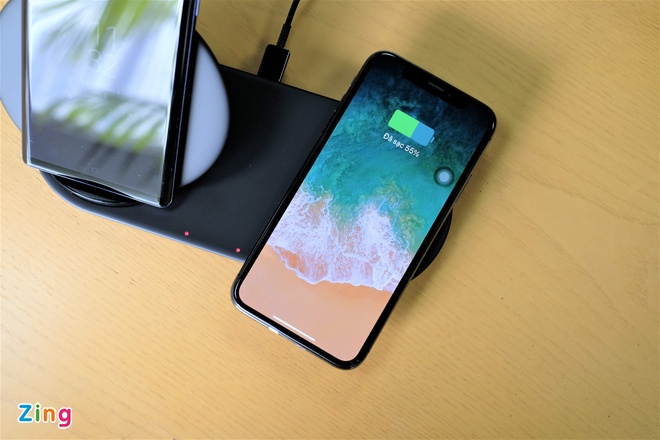 Trai nghiem Wireless Charger Duo anh 6