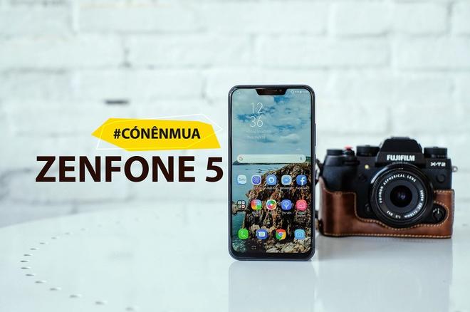 Co nen mua Zenfone 5 - thua nhan 'hoc iPhone X vi nguoi dung'? hinh anh