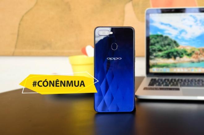 #Conenmua Oppo F9: Smartphone danh cho nu gioi hinh anh