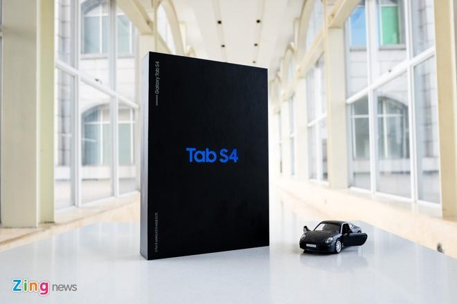 Trai nghiem Galaxy Tab S4 anh 1