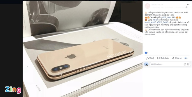 bien iPhone X thanh iPhone XS anh 2