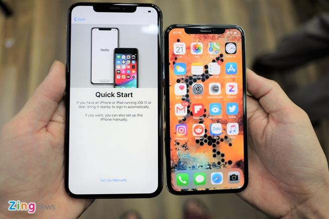 Gia iPhone XS Max 2 SIM re hon ban 1 SIM tai Viet Nam hinh anh 1