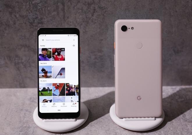 Chi tiet Google Pixel 3 va 3 XL vua ra mat - man hinh lon, AI nang cap hinh anh