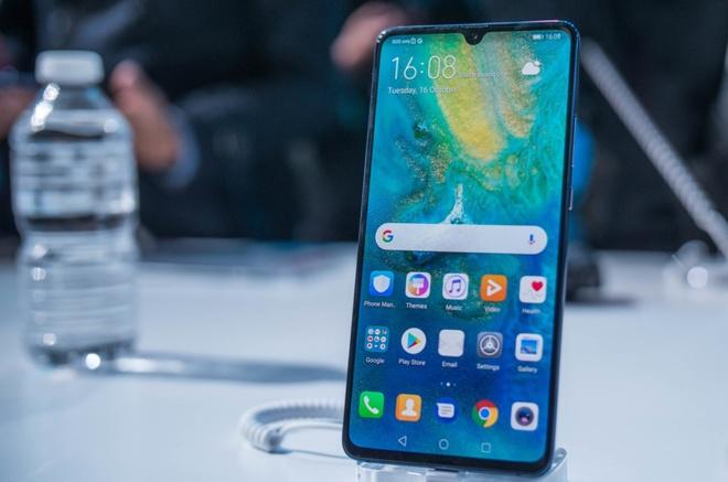 Huawei Mate 20 X - man hinh dien ro 7,2 inch, pin 5.000 mAh hinh anh