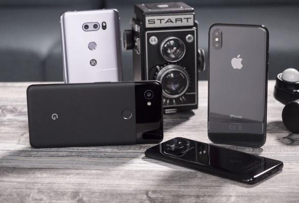 Loat smartphone cao cap co camera tot nhat 2018 hinh anh