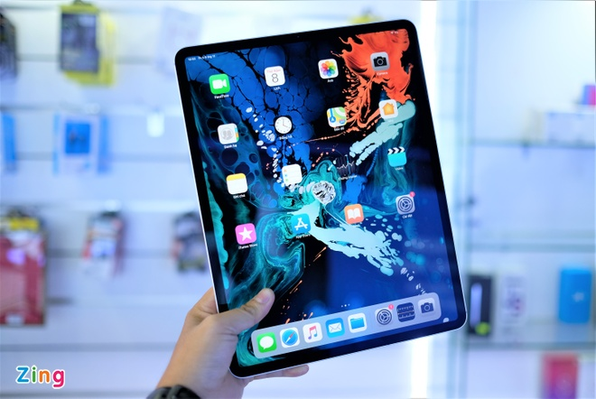 iPad Pro 2018 phien ban 12,9 inch ve VN gia 33,2 trieu dong hinh anh 13