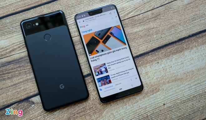 Vua ra mat, Google Pixel 3 XL da giam gia manh tai VN hinh anh 1