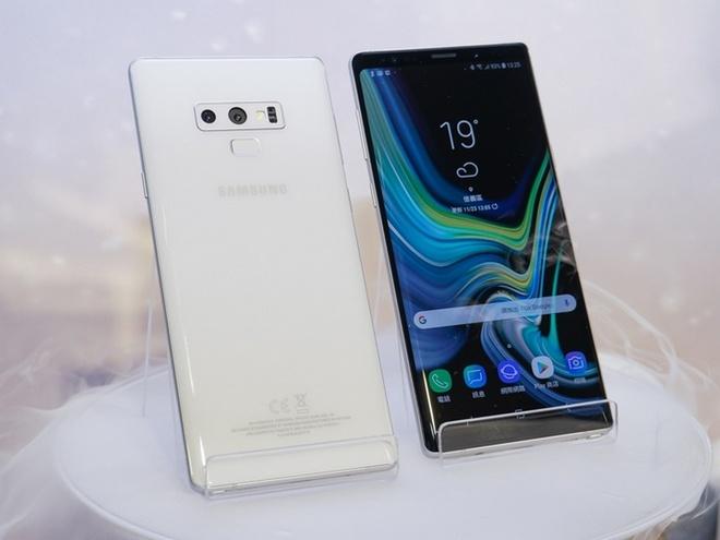 Galaxy Note9 ra mat phien ban mau trang mung le giang sinh hinh anh 4