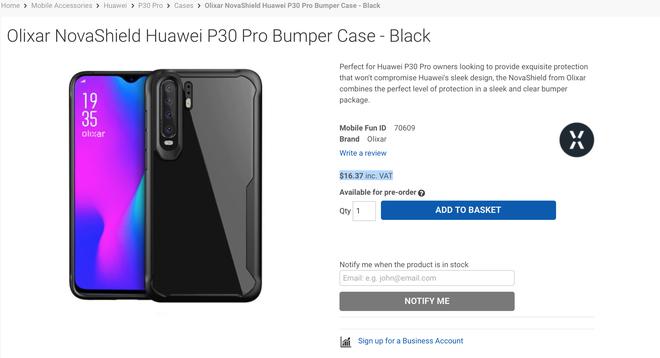 Huawei P30 Pro lo dien voi 4 camera sau hinh anh 2