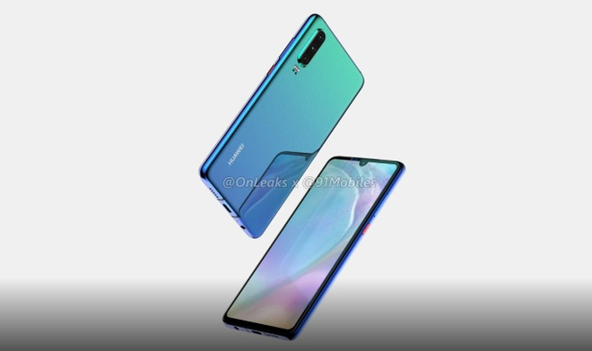 Huawei P30 lo dien - 3 camera, man hinh giot nuoc hinh anh 6