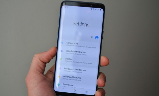 Giao dien One UI tren Galaxy S9 anh 4