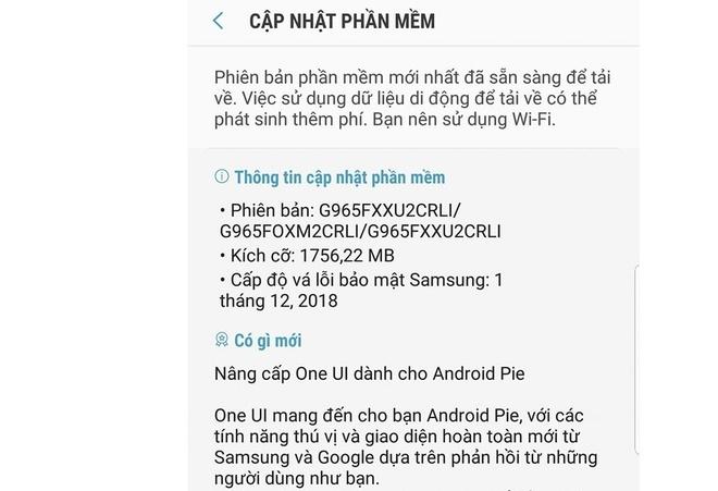 Giao dien One UI tren Galaxy S9 anh 1