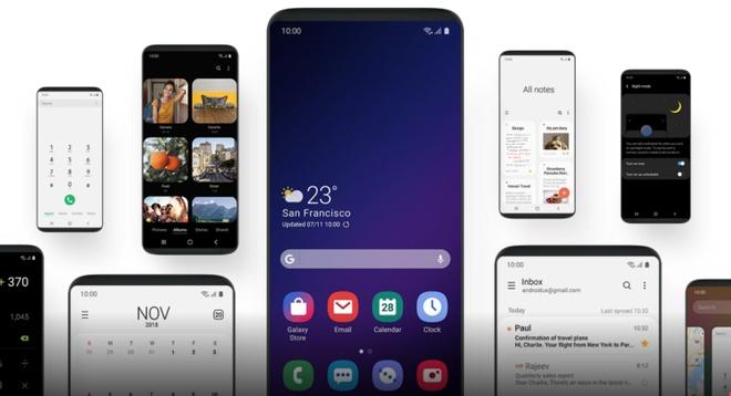 Nguoi dung Galaxy S9 va S9+ da co the cap nhat One UI moi hinh anh 2