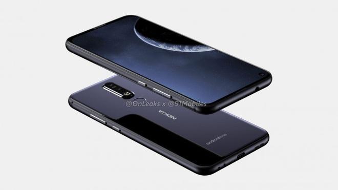 Smartphone 'not ruoi' Nokia dau tien lo dien hinh anh 1