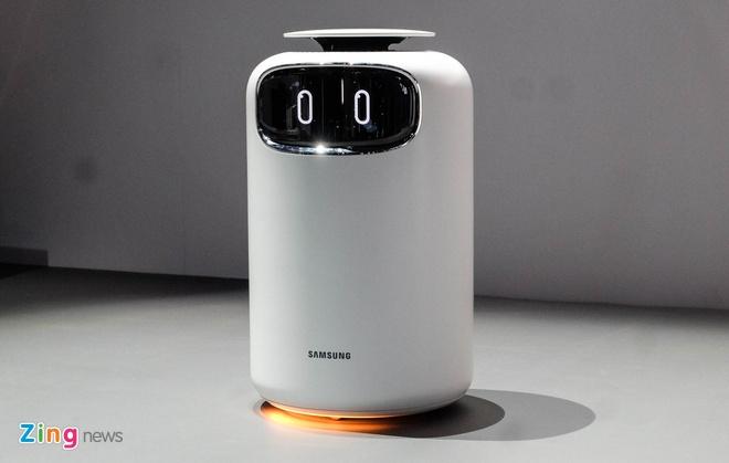 Robot do huyet ap, nhip tim, lam sach khong khi tu Samsung hinh anh 3