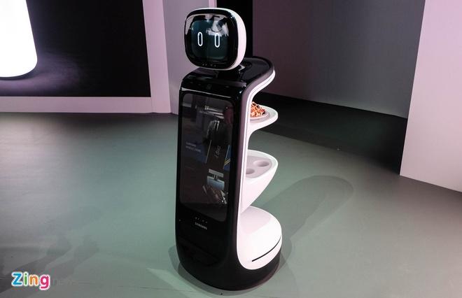 Robot do huyet ap, nhip tim, lam sach khong khi tu Samsung hinh anh 2