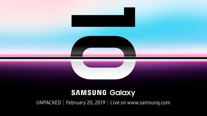 Tat ca thong tin can biet ve Galaxy S10 truoc ngay ra mat hinh anh 1