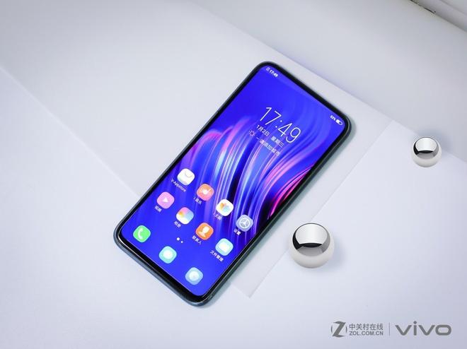 Smartphone khong cong ket noi, khong phim cung tu Vivo hinh anh 2