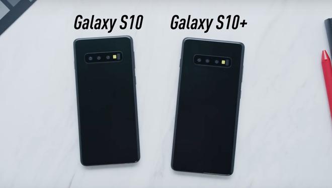 Galaxy S10 chua ra mat, blogger da dang video trai nghiem hinh anh 9