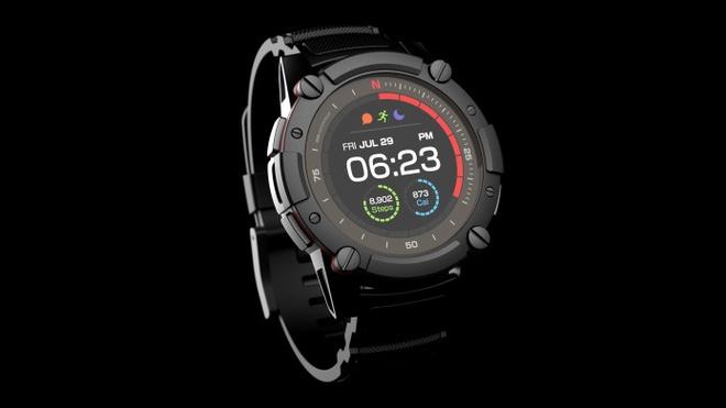 Smartwatch khong can sac pin, gia 500 USD hinh anh