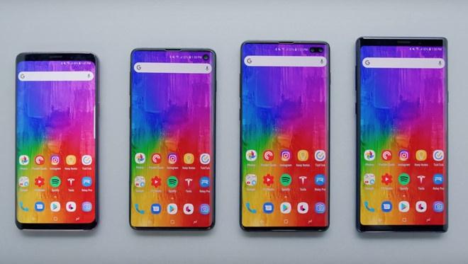 Samsung tung quang cao Galaxy S10 tai nhieu con pho lon hinh anh 7