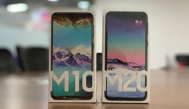 Samsung Galaxy M20 ve VN: Pin 5.000 mAh, camera kep, gia 5 trieu hinh anh 1