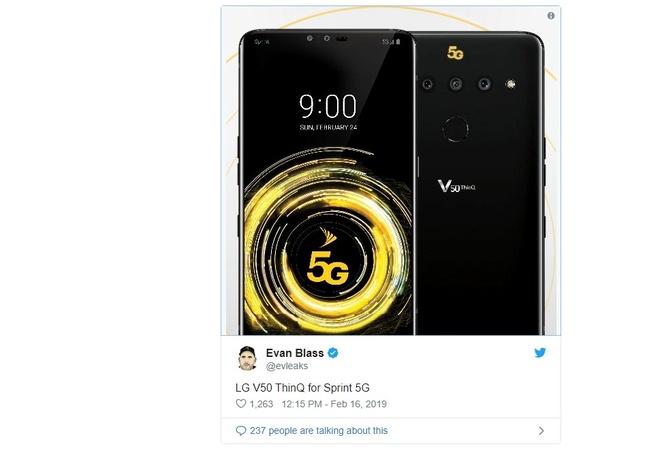 Smartphone 5G dau tien cua LG xuat hien hinh anh 1
