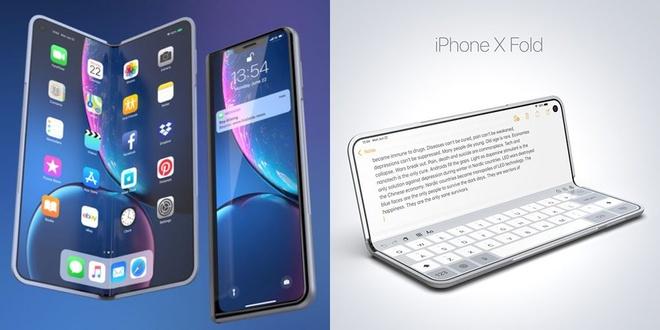 Chiec iPhone X man hinh gap se nhu the nao? hinh anh 1
