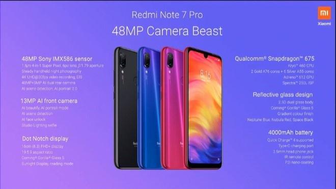 Redmi Note 7 Pro ra mat - camera 48 MP, gia 196 USD hinh anh 3