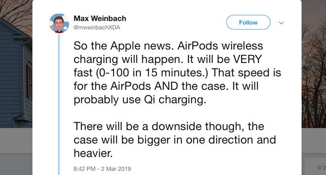 Dieu ban can biet ve AirPods 2 va iOS 13 sap ra mat hinh anh 1