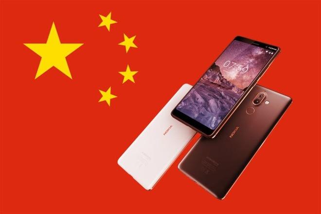 Nokia 7 Plus gui du lieu nguoi dung ve Trung Quoc anh 1