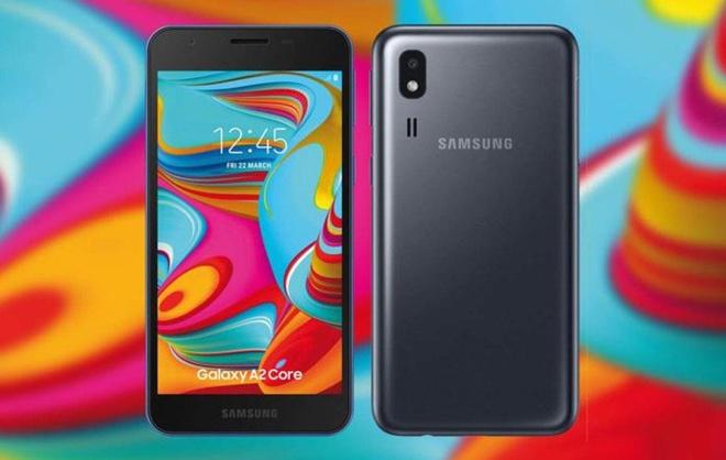 Galaxy A2 Core ra mat anh 1