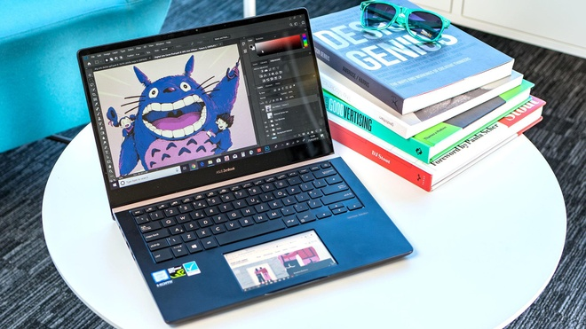 Trai nghiem New ZenBook tai Computex 2019 - nang cap manh ve ScreenPad hinh anh
