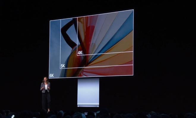 Apple ra mat man hinh Pro Display XDR - 32 inch, 6K, gia tu 5.000 USD hinh anh 1